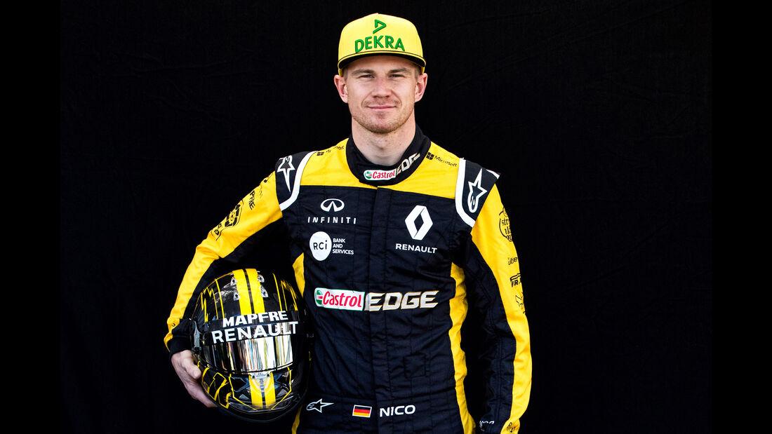 Nico Hülkenberg - Porträt - Formel 1 - 2018