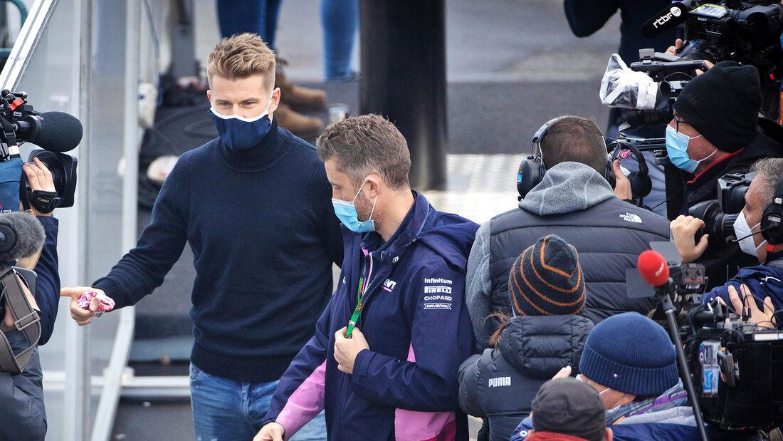 Nico Hülkenberg - Racing Point - Formel 1 - GP Eifel - Nürburgring - Samstag - 10.10.2020