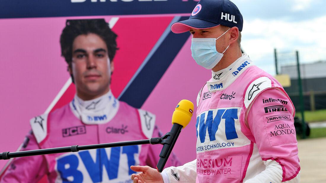 Nico Hülkenberg - Racing Point - Formel 1 - GP England - Silverstone - 1. August 2020