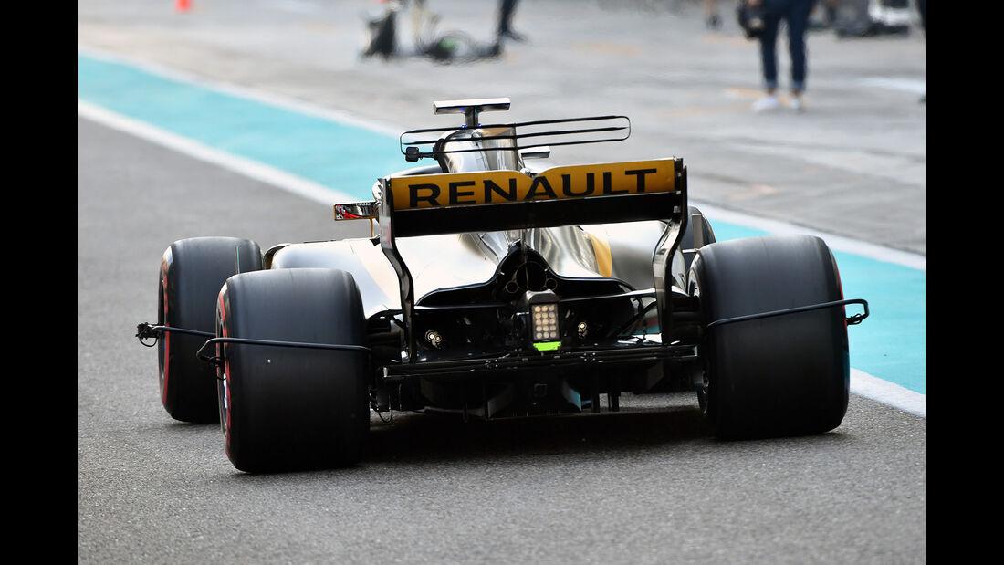 Nico Hülkenberg - Renault - Abu Dhabi - Test 1 - 28. November 2017