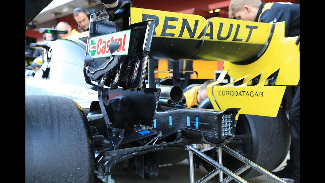 Nico Hülkenberg - Renault - Barcelona - F1-Test - 18. Februar 2019
