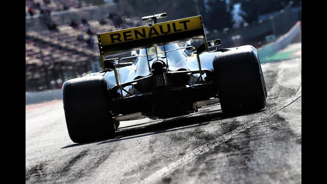 Nico Hülkenberg - Renault - Barcelona - F1-Test - 19. Februar 2019