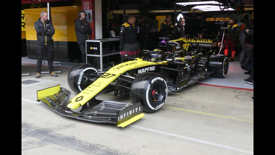 Nico Hülkenberg - Renault - Barcelona - F1-Test - 20. Februar 2019