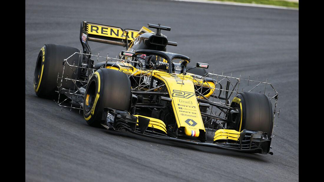 Nico Hülkenberg - Renault - Barcelona F1-Test 2018 - Tag 1