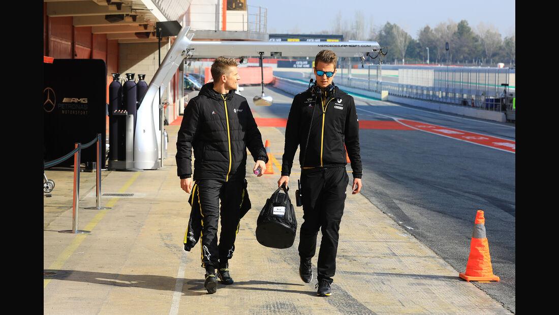 Nico Hülkenberg - Renault - Barcelona - F1-Test - 21. Februar 2019