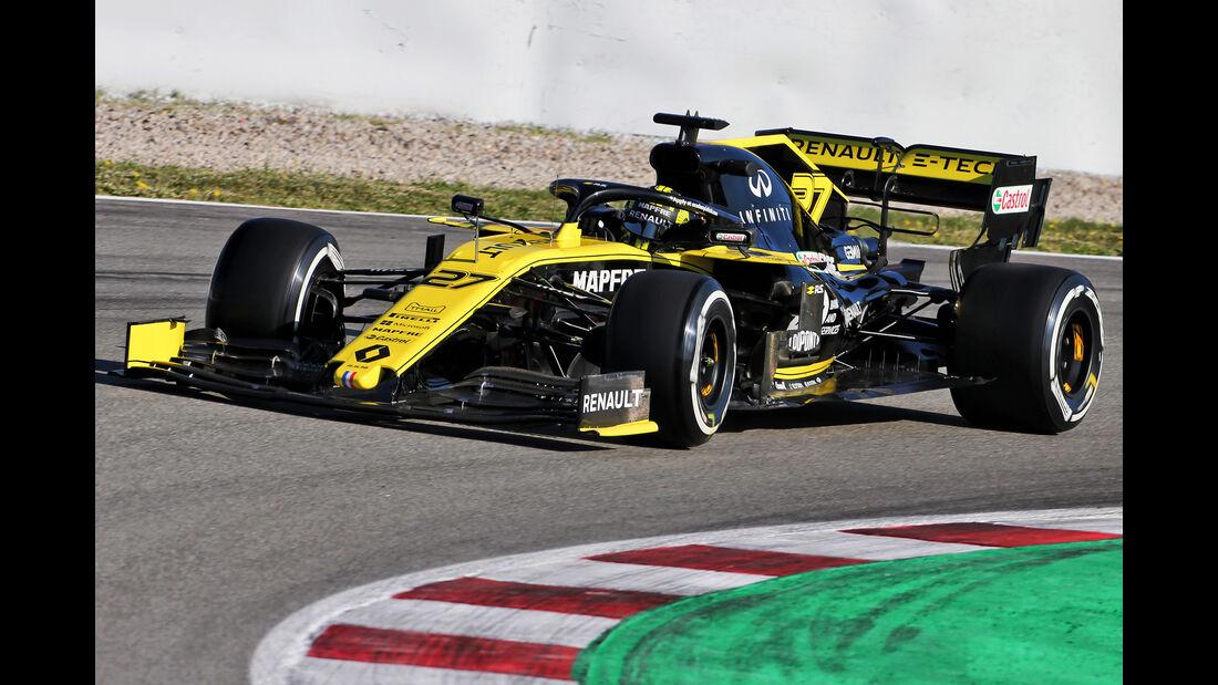 Nico Hülkenberg - Renault - F1-Test - Barcelona  - 14. Mai 2019