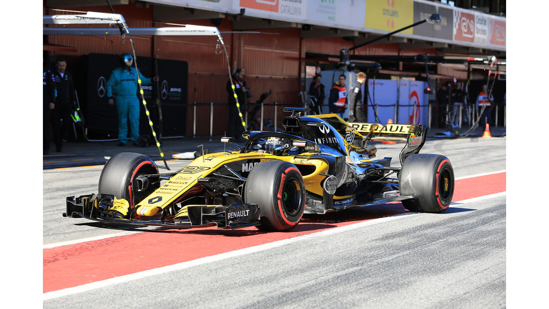 Nico Hülkenberg - Renault - F1-Test - Barcelona - Tag 5 - 6. März 2018