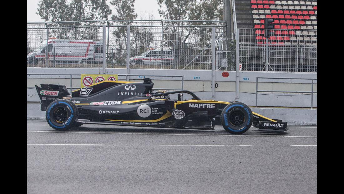 Nico Hülkenberg - Renault - F1-Testfahrten - Barcelona - 1. Woche