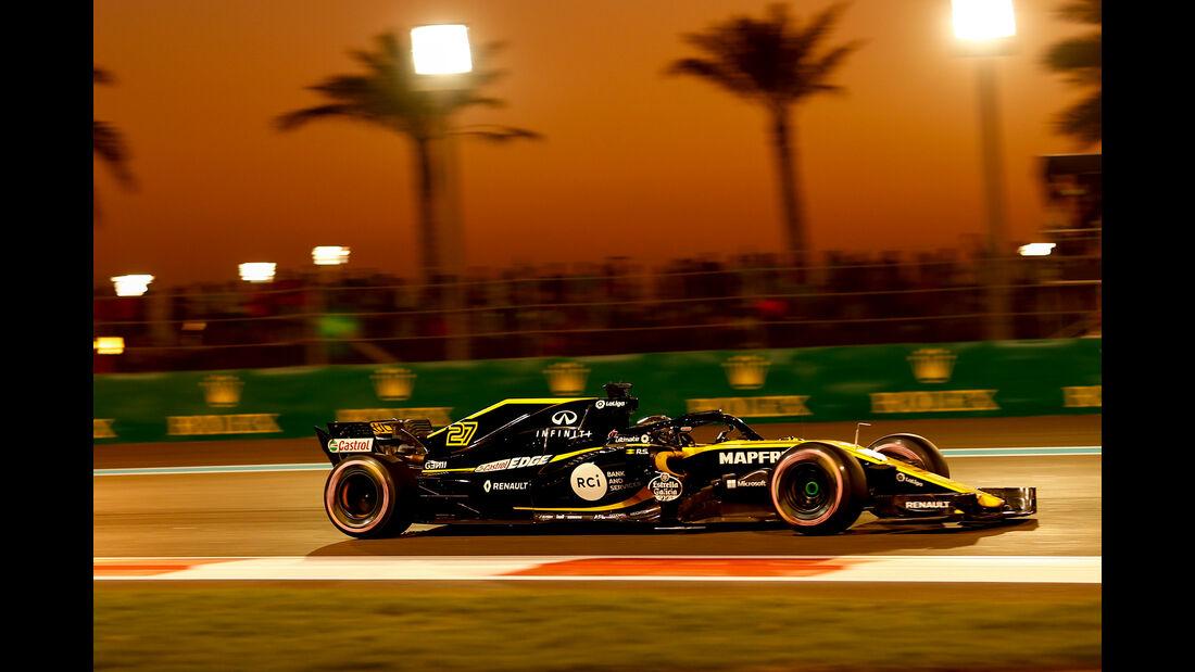 Nico Hülkenberg - Renault - Formel 1 - GP Abu Dhabi  -24. November 2018