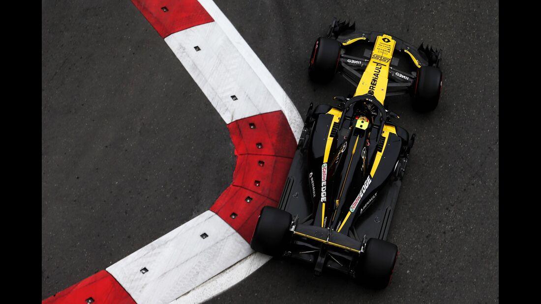 Nico Hülkenberg - Renault - Formel 1 - GP Aserbaidschan - 27. April 2018