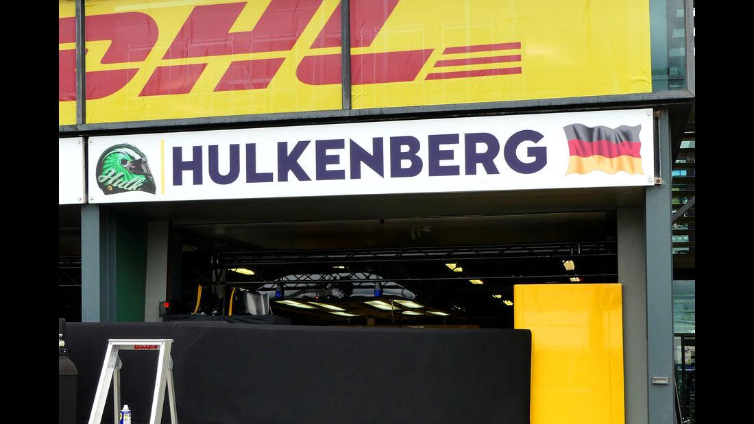 Nico Hülkenberg - Renault - Formel 1 - GP Australien - Melbourne - 22. März 2017