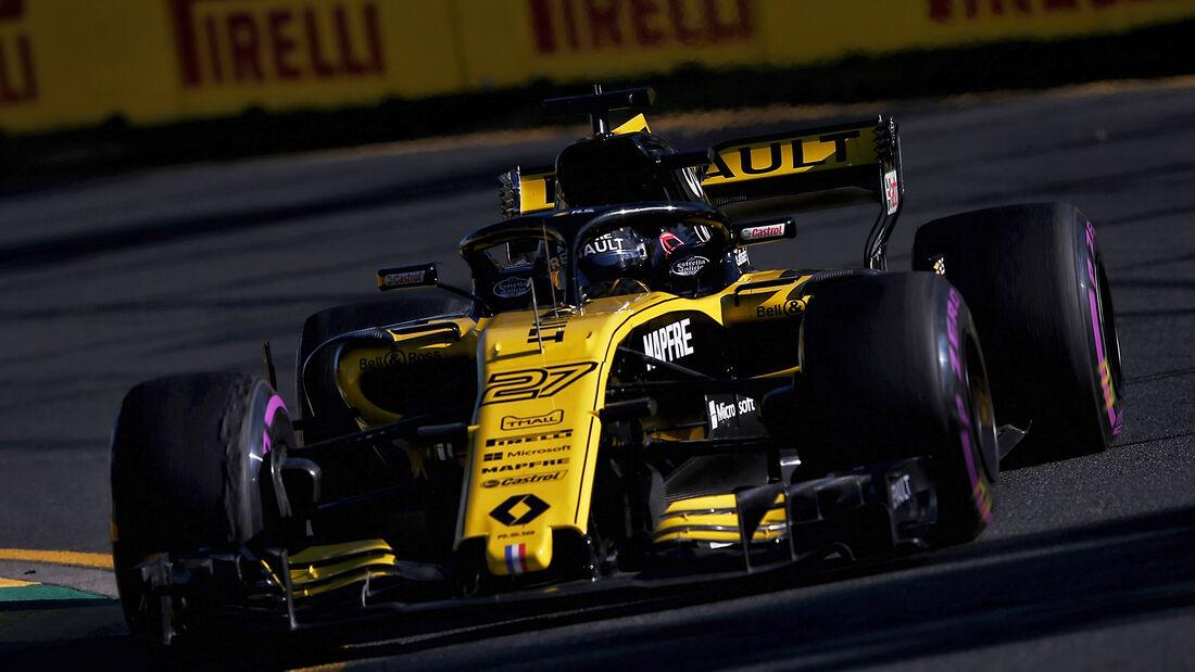 Nico Hülkenberg - Renault - Formel 1 - GP Australien - Melbourne - 23. März 2018