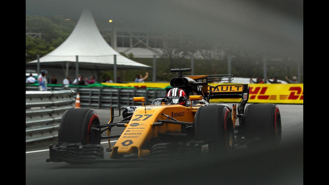 Nico Hülkenberg - Renault - Formel 1 - GP Brasilien - 11. November 2017