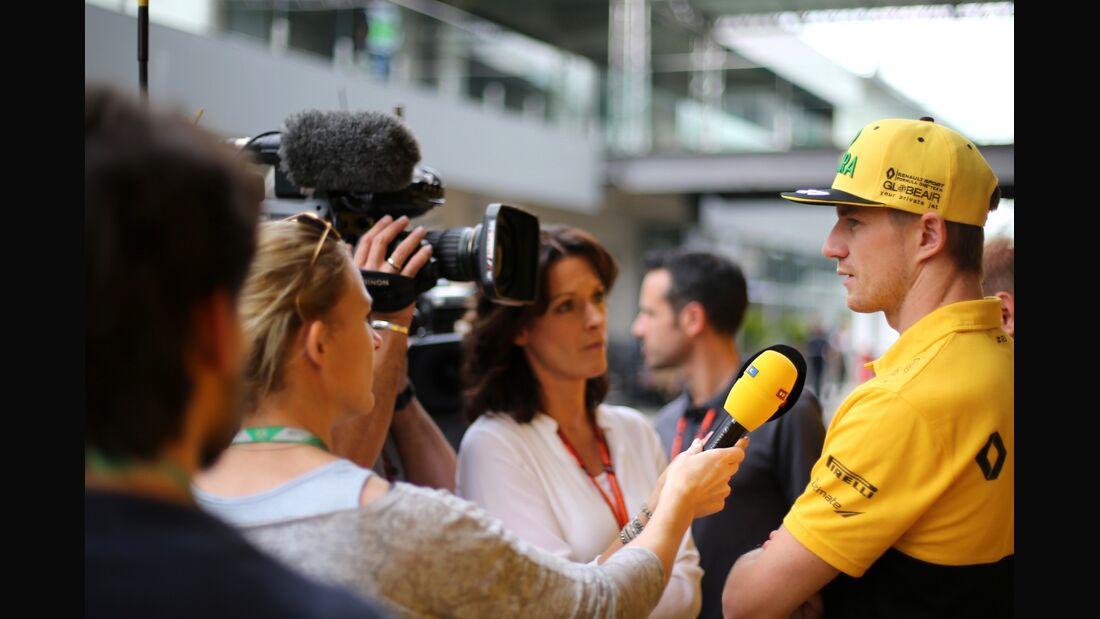 Nico Hülkenberg - Renault - Formel 1 - GP Brasilien - 9. November 2017