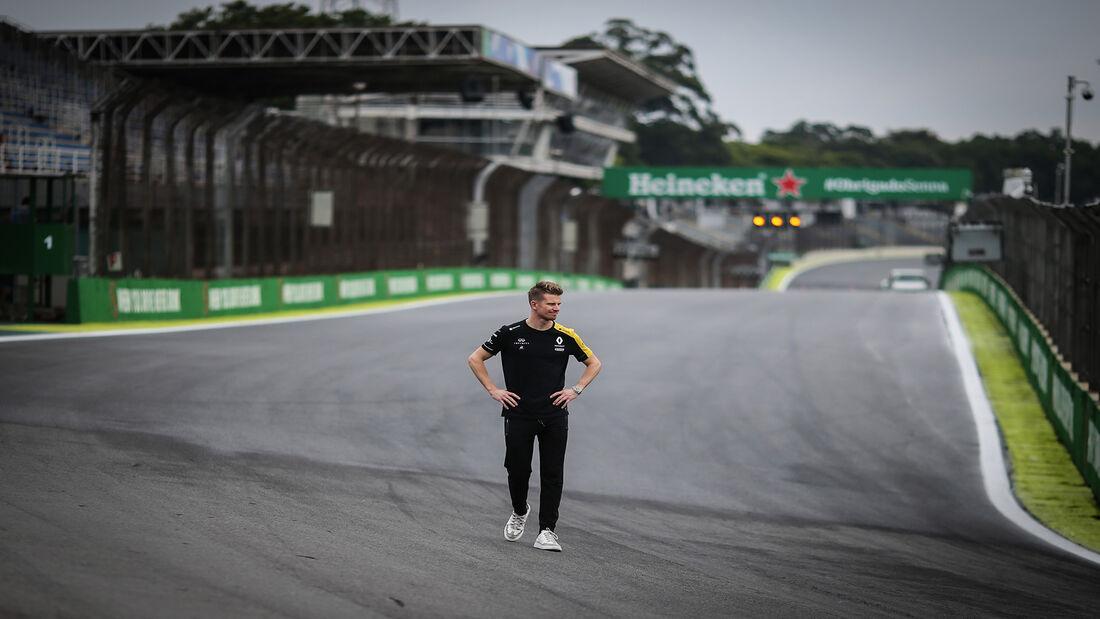 Nico Hülkenberg - Renault - Formel 1 - GP Brasilien - Sao Paulo - 14. November 2019