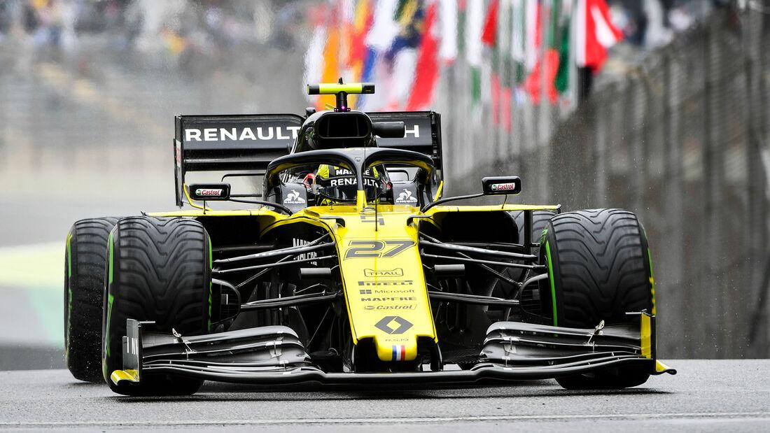 Nico Hülkenberg - Renault - Formel 1 - GP Brasilien - Sao Paulo - 15. November 2019
