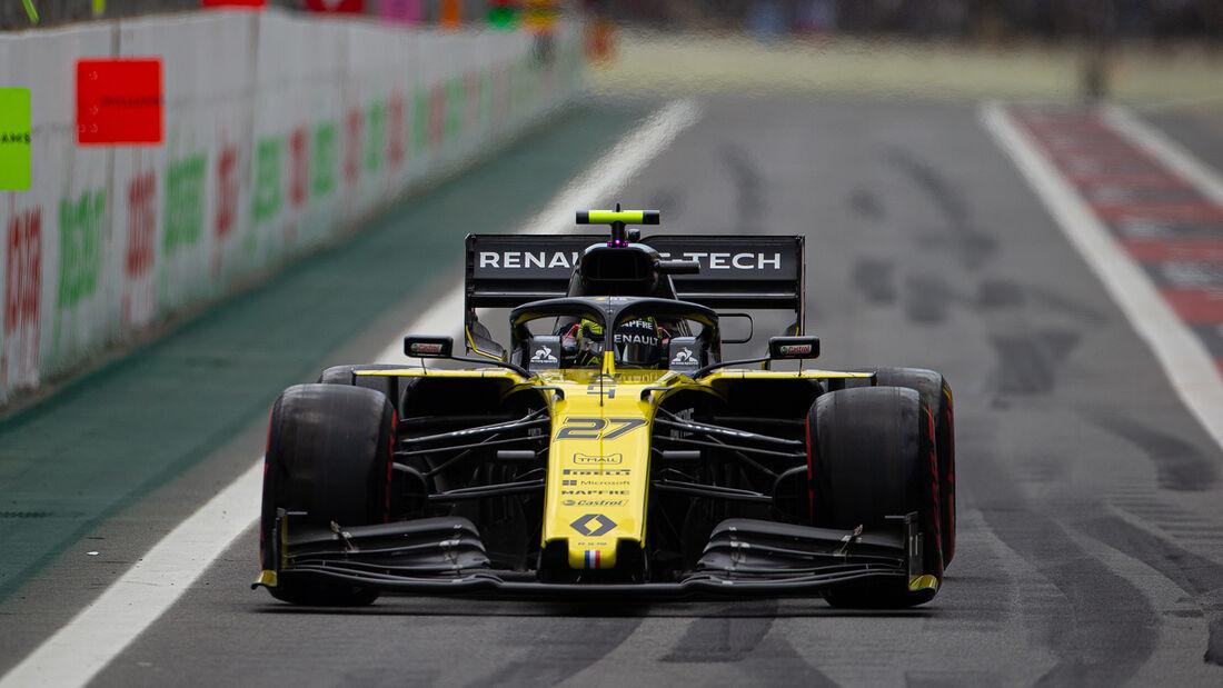 Nico Hülkenberg - Renault - Formel 1 - GP Brasilien - Sao Paulo - 16. November 2019