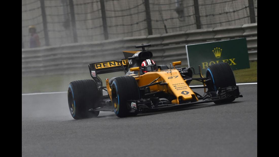Nico Hülkenberg - Renault - Formel 1 - GP China 2017 - Shanghai - 7.4.2017