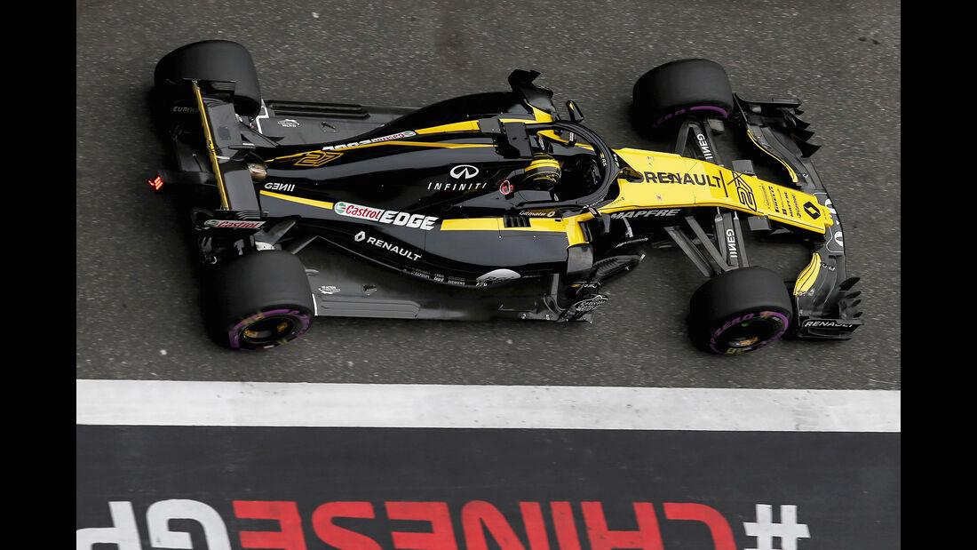Nico Hülkenberg - Renault - Formel 1 - GP China - Shanghai - 14. April 2018