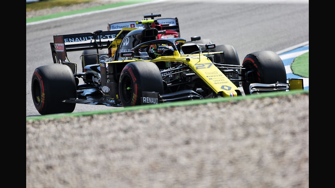 Nico Hülkenberg - Renault - Formel 1 - GP Deutschland - Hockenheim 2019