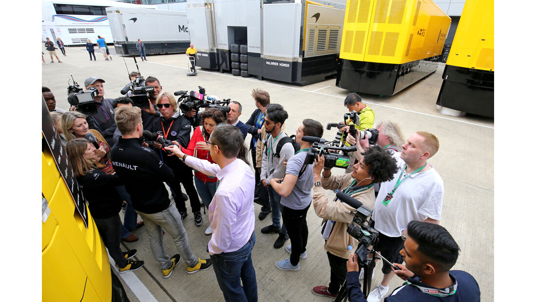 Nico Hülkenberg - Renault - Formel 1 - GP England - 13. Juli 2017