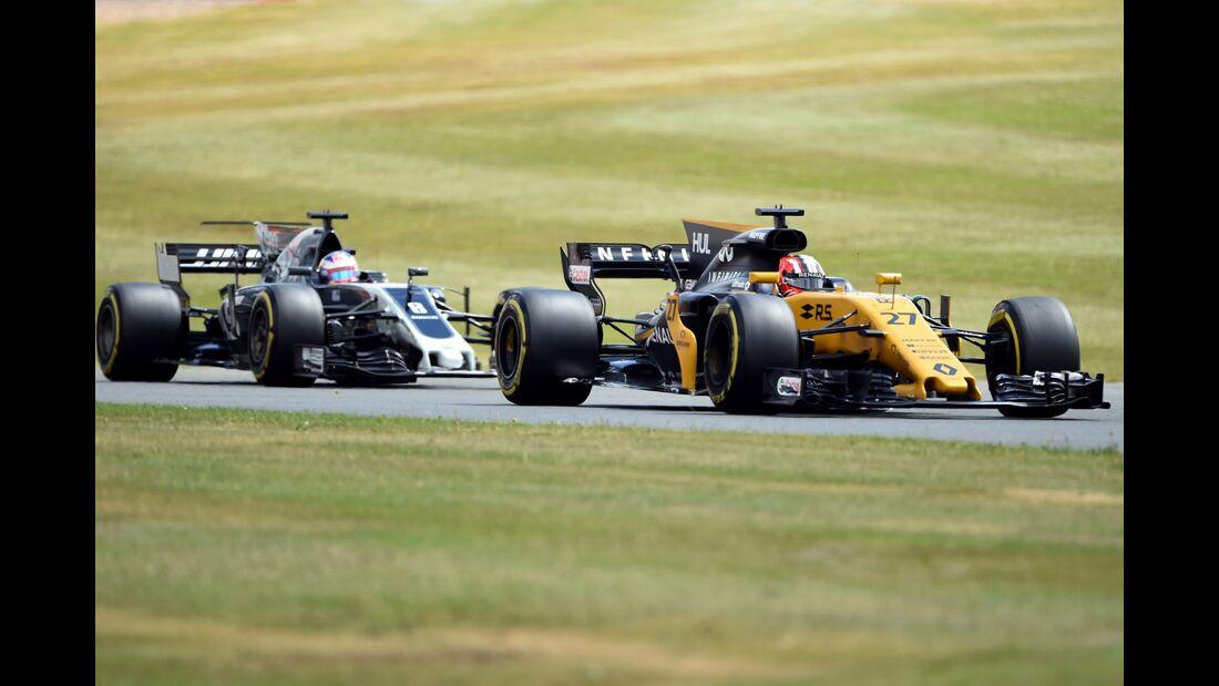 Nico Hülkenberg - Renault - Formel 1 - GP England - 14. Juli 2017