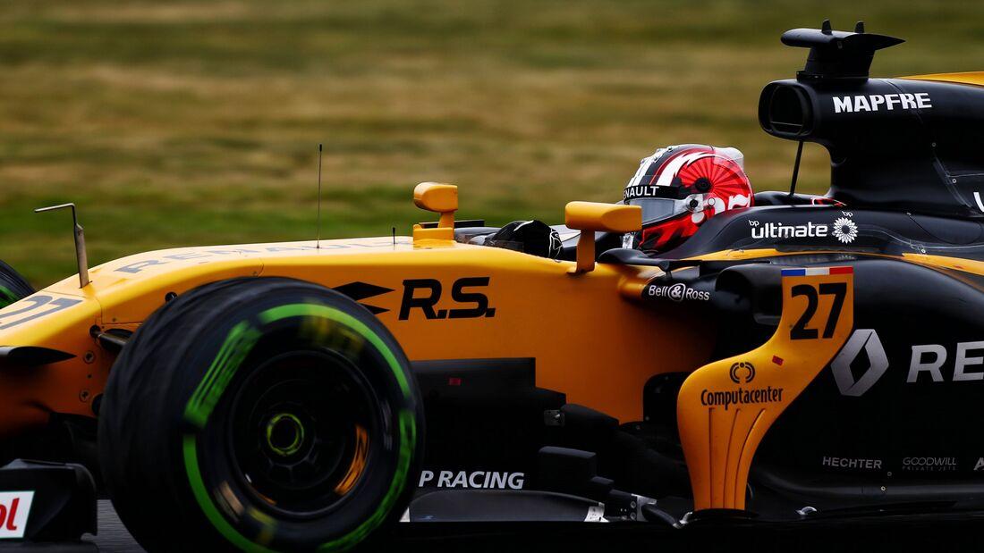 Nico Hülkenberg - Renault - Formel 1 - GP England - 15. Juli 2017