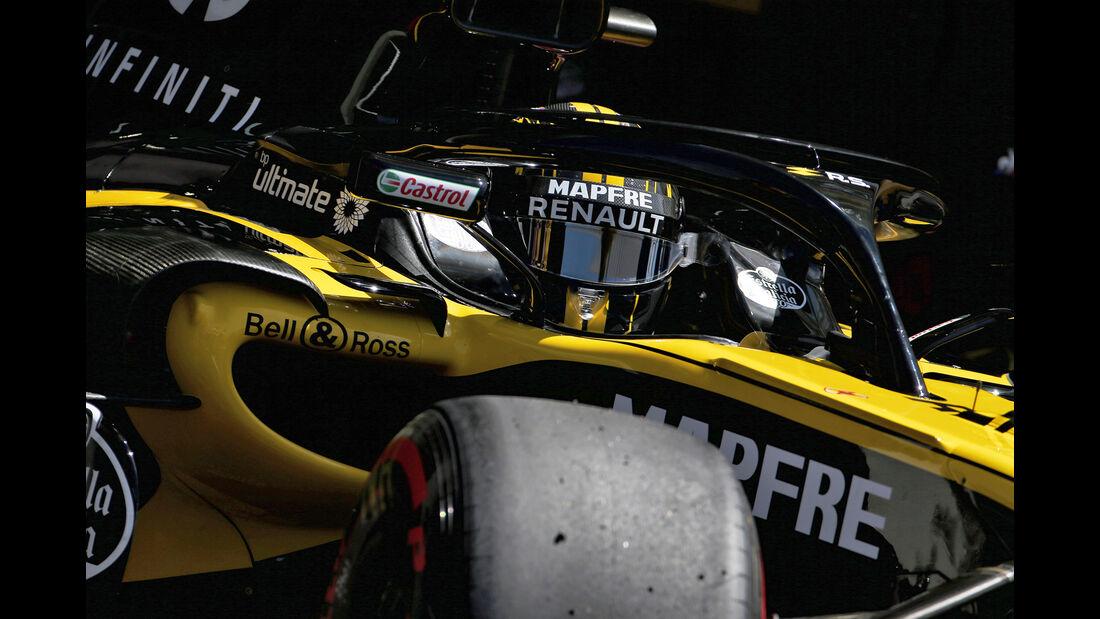 Nico Hülkenberg - Renault - Formel 1 - GP Frankreich - Circuit Paul Ricard - 22. Juni 2018