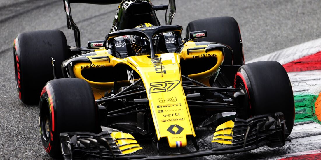 Nico Hülkenberg - Renault - Formel 1 - GP Italien - 01. September 2018