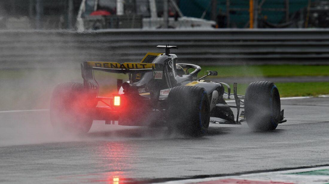 Nico Hülkenberg - Renault - Formel 1 - GP Italien - 31. August 2018