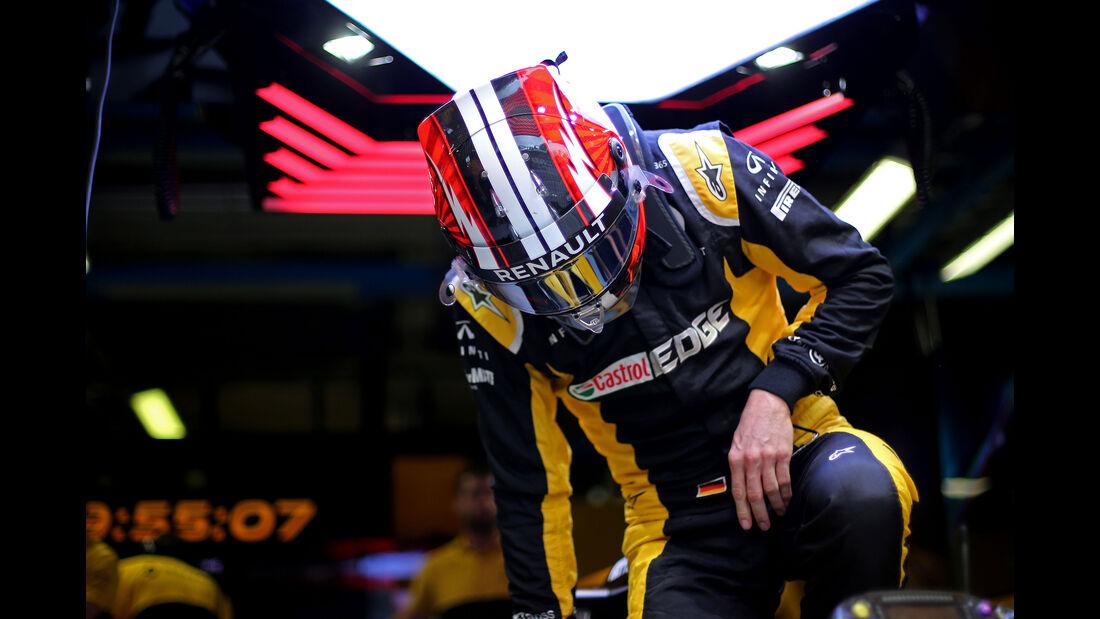 Nico Hülkenberg - Renault - Formel 1 - GP Italien - Monza - 1. September 2017