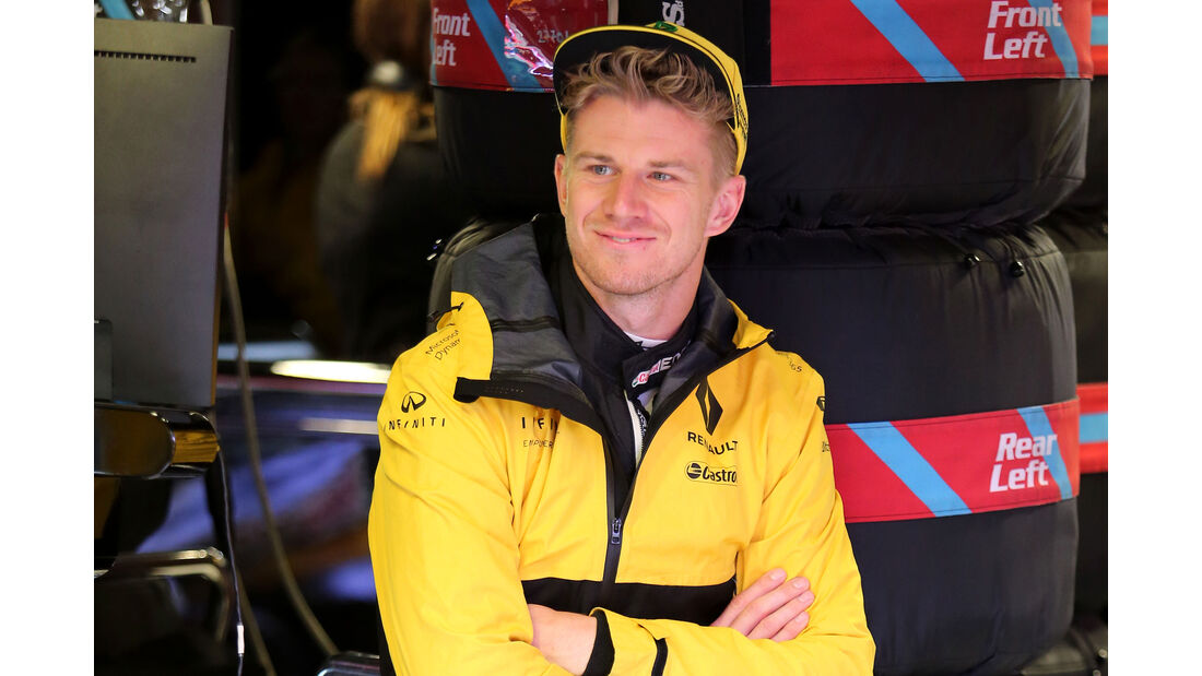 Nico Hülkenberg - Renault - Formel 1 - GP Italien - Monza - 2. September 2017