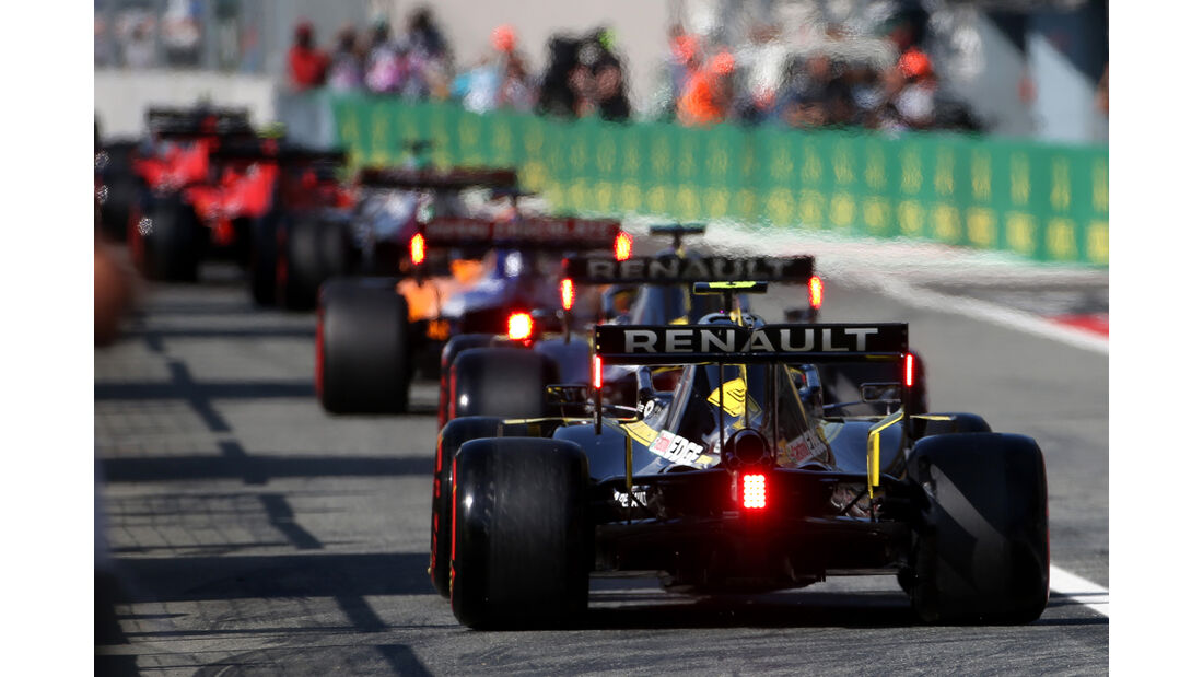 Nico Hülkenberg - Renault  - Formel 1 - GP Italien - Monza - 7. September 2019