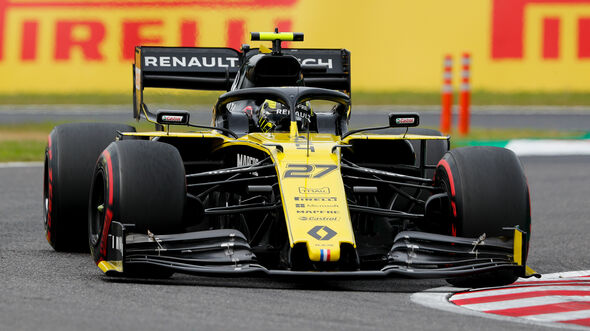 Nico Hülkenberg - Renault - Formel 1 - GP Japan - Suzuka - 11. Oktober 2019