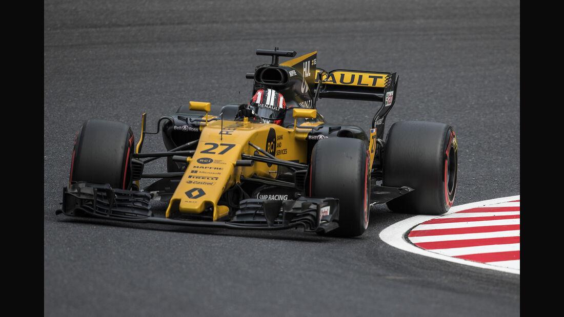 Nico Hülkenberg - Renault - Formel 1 - GP Japan - Suzuka - 7. Oktober 2017