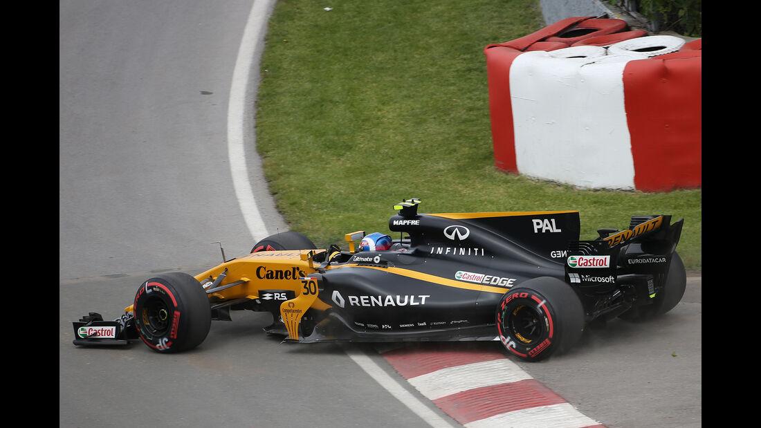 Nico Hülkenberg - Renault - Formel 1 - GP Kanada - Montreal - 9. Juni 2017