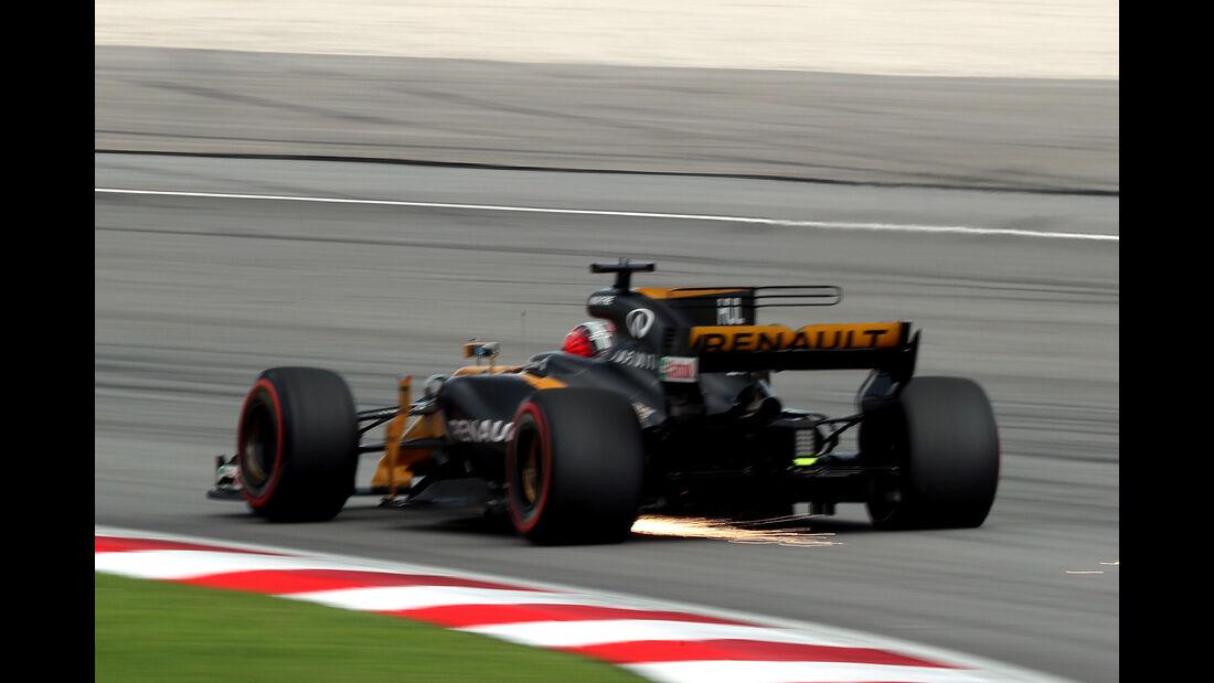 Nico Hülkenberg - Renault - Formel 1 - GP Malaysia - Sepang - 30. September 2017