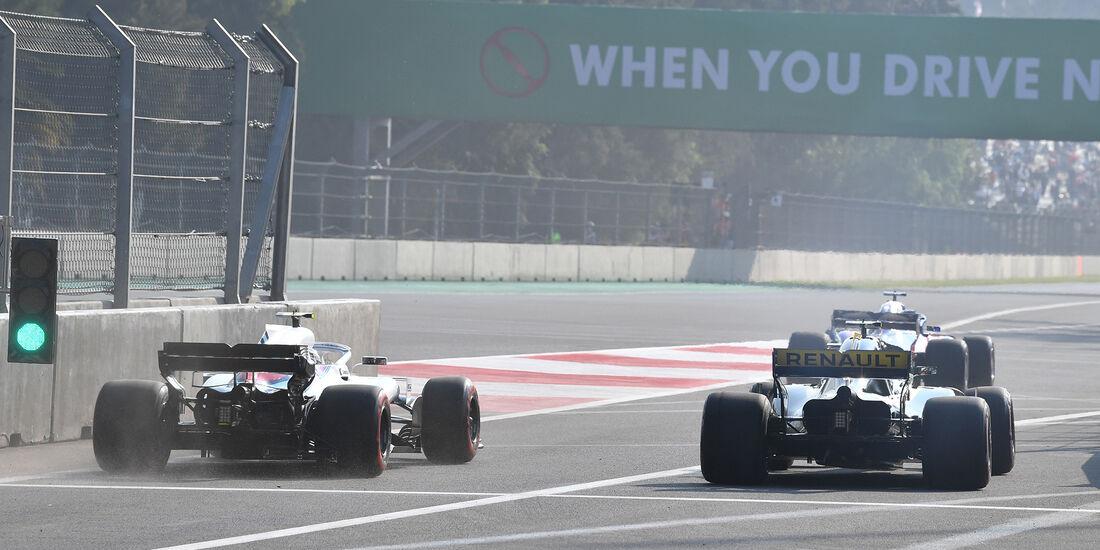 Nico Hülkenberg - Renault  - Formel 1 - GP Mexiko - 26. Oktober 2018