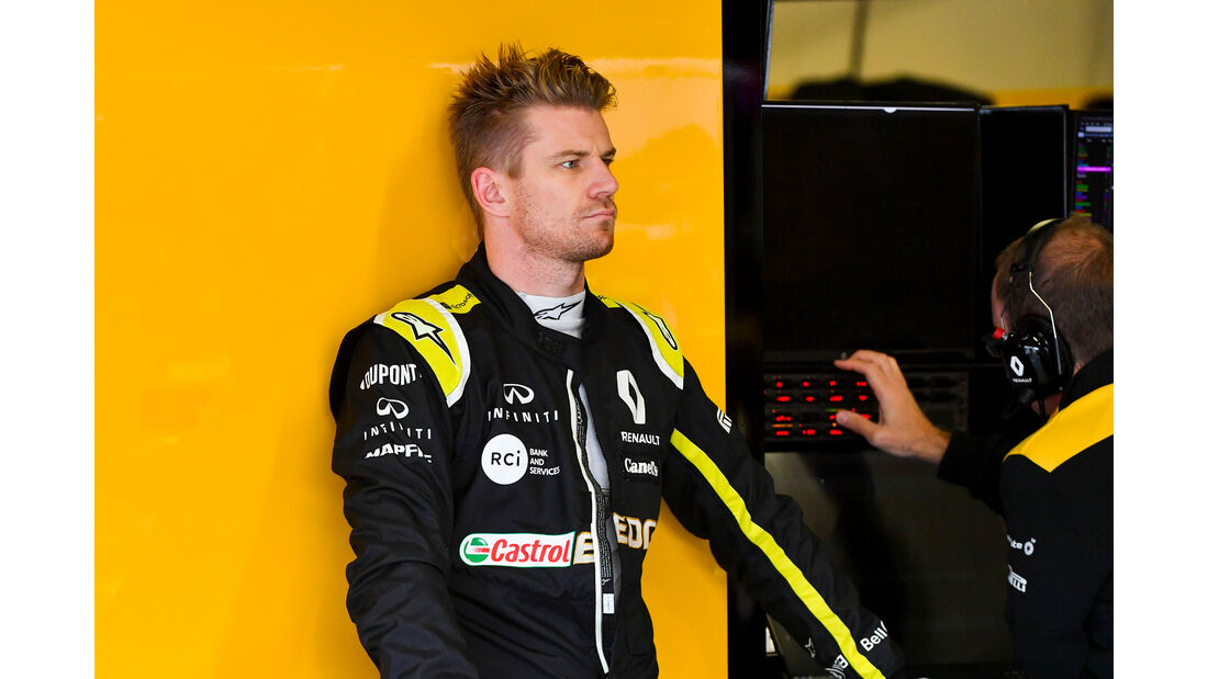 Nico Hülkenberg - Renault - Formel 1 - GP Mexiko - 26. Oktober 2019