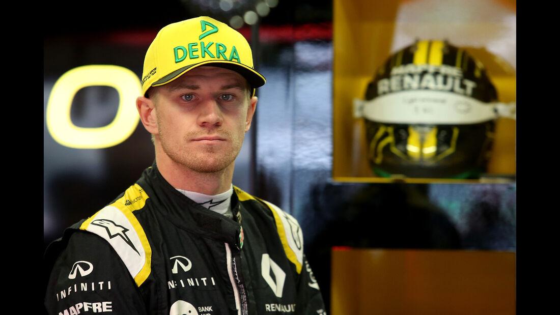 Nico Hülkenberg - Renault - Formel 1 - GP Mexiko - 27. Oktober 2018