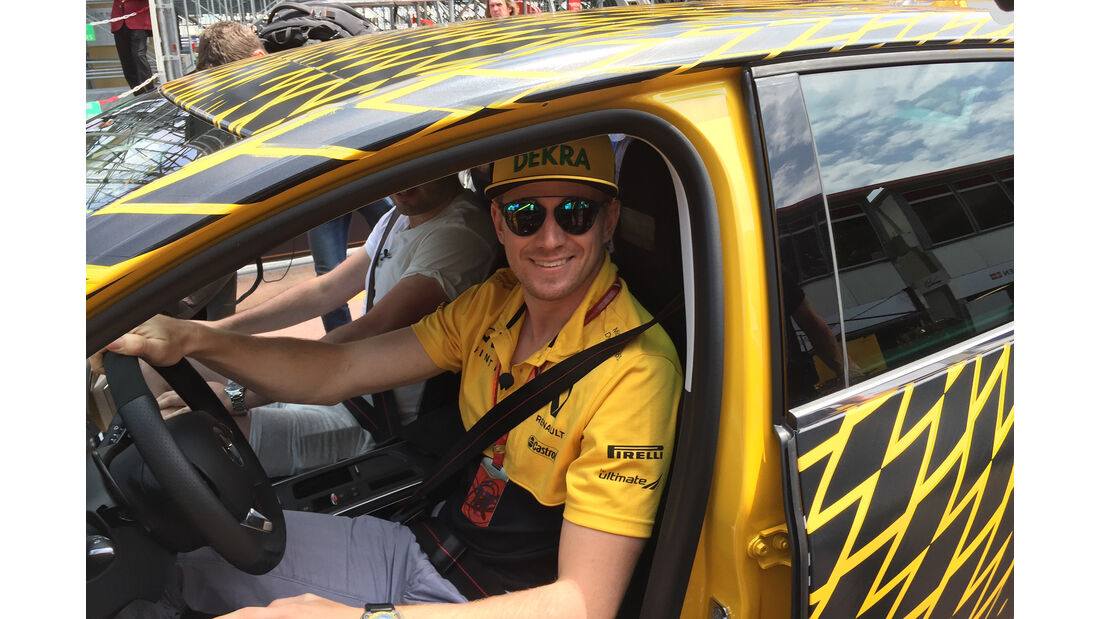 Nico Hülkenberg - Renault - Formel 1 - GP Monaco - 26. Mai 2017
