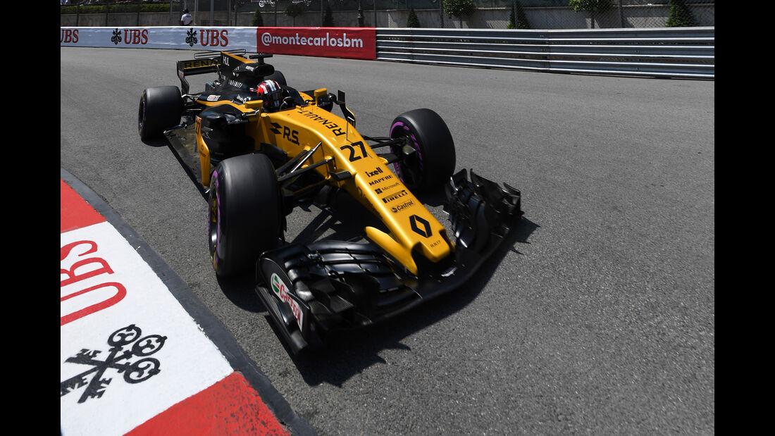 Nico Hülkenberg - Renault - Formel 1 - GP Monaco - 27. Mai 2017