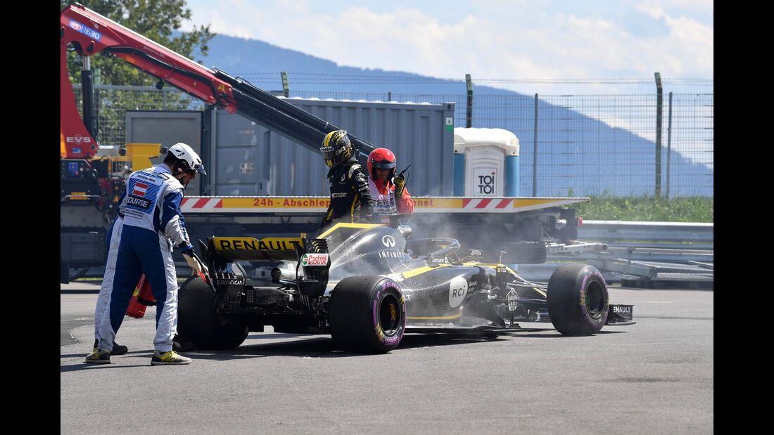 Nico Hülkenberg - Renault - Formel 1 - GP Österreich - 1. Juli 2018