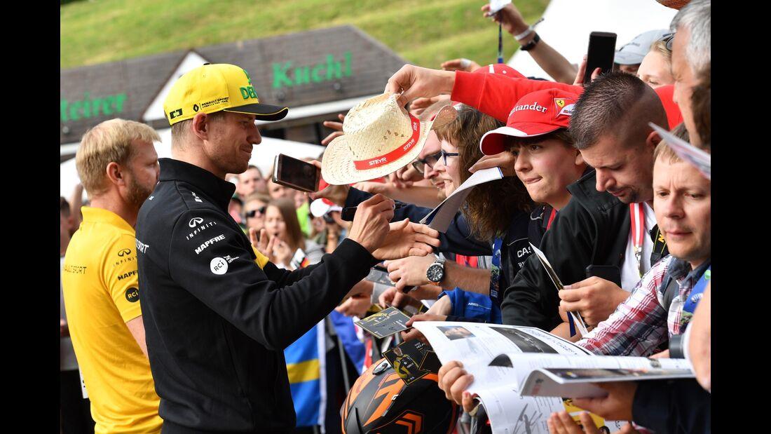 Nico Hülkenberg - Renault - Formel 1 - GP Österreich - 28. Juni 2018