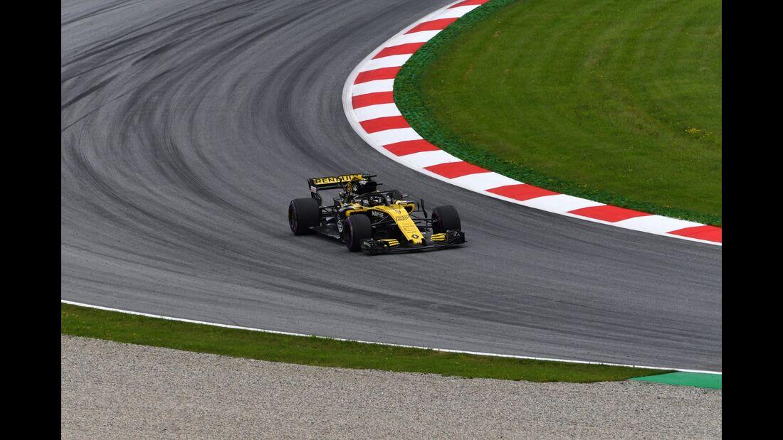 Nico Hülkenberg - Renault - Formel 1 - GP Österreich - 29. Juni 2018