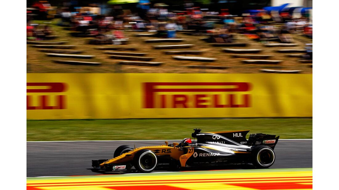 Nico Hülkenberg - Renault - Formel 1 - GP Spanien - 13. Mai 2017