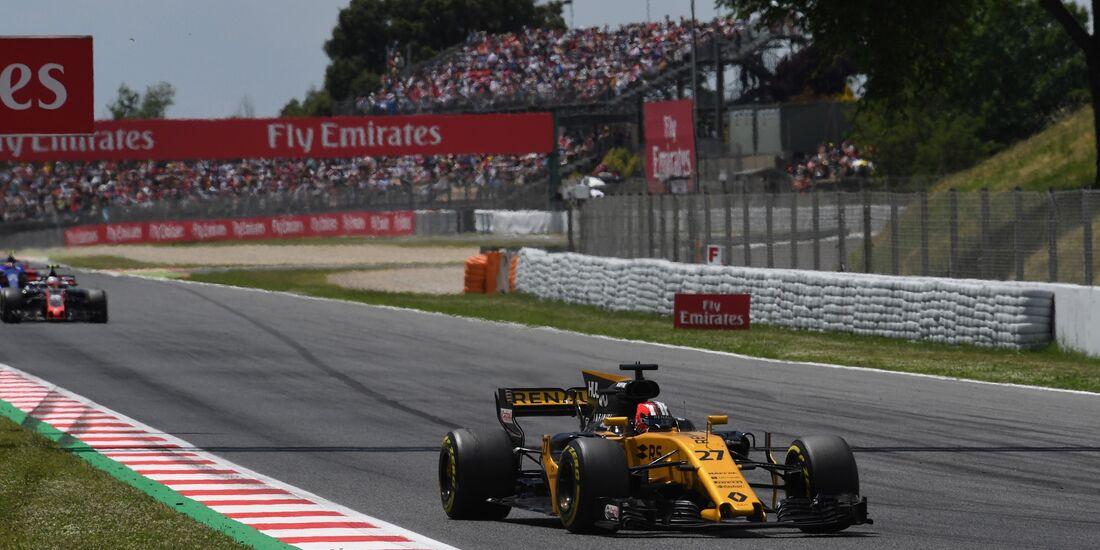 Nico Hülkenberg - Renault - Formel 1 - GP Spanien - 14. Mai 2017