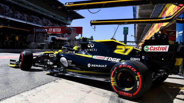 Nico Hülkenberg - Renault - Formel 1 - GP Spanien - Barcelona - 10. Mai 2019