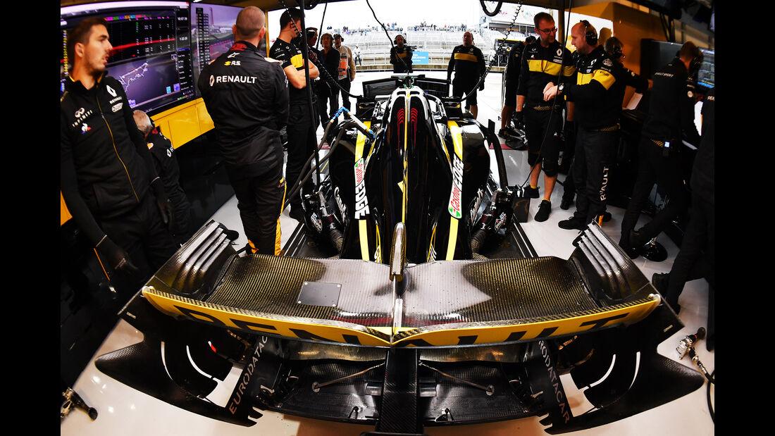Nico Hülkenberg - Renault - Formel 1 - GP USA - 19. Oktober 2018
