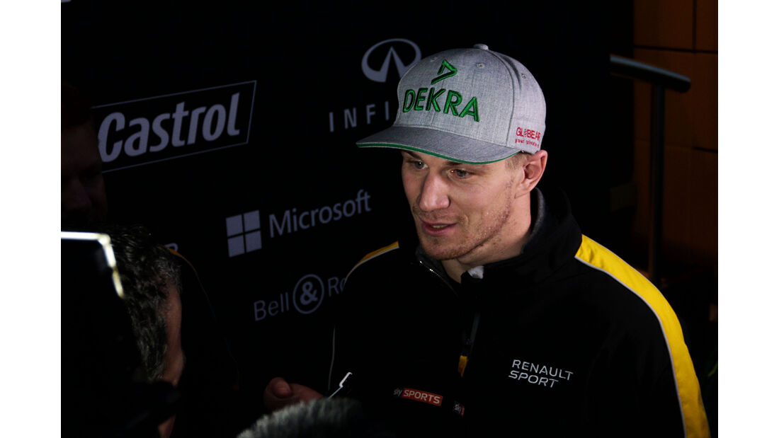 Nico Hülkenberg - Renault - Formel 1 - Test - Barcelona - 1. März 2017